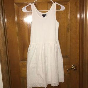 GAP kids cotton and eyelet tank dress